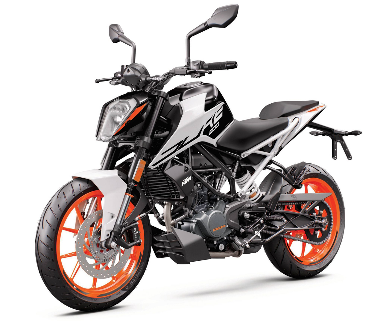 KTM 200 Duke / ABS technical specifications